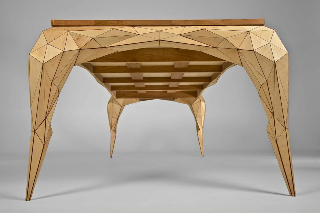 jasser studio - skin collection animal design furniture geometry table wood