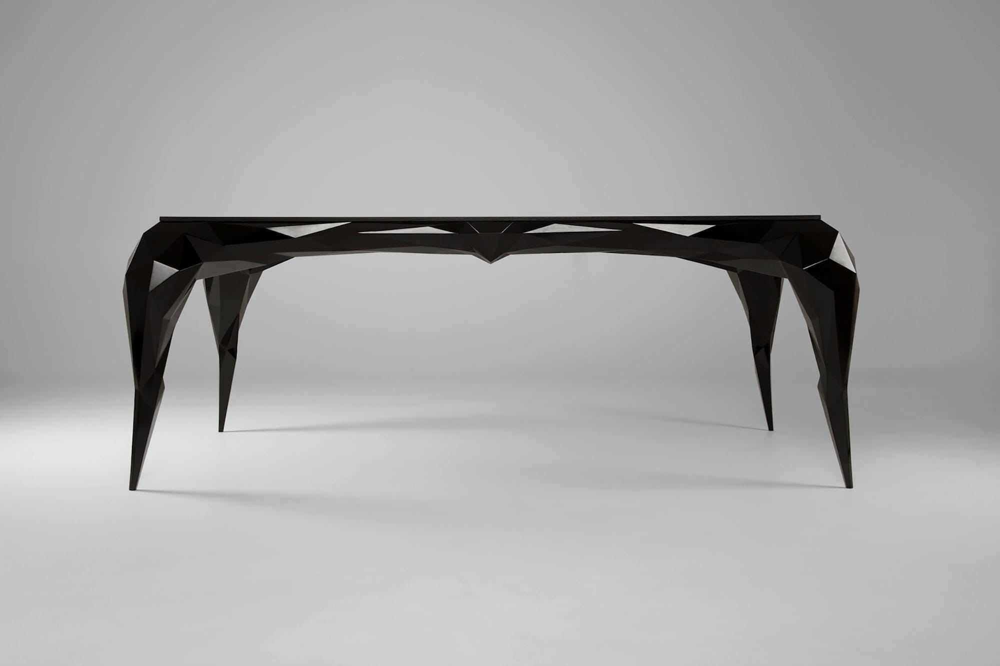 jasser studio - skin collection animal design furniture geometry black desk